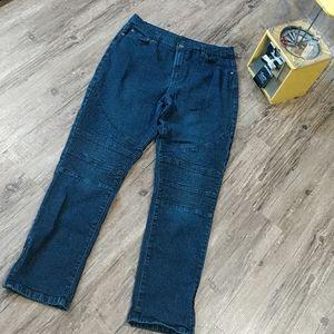 Diane Hillman Zip Ankle Jeans